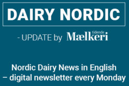 Dairy Nordic – nordic dairy news in English once a week